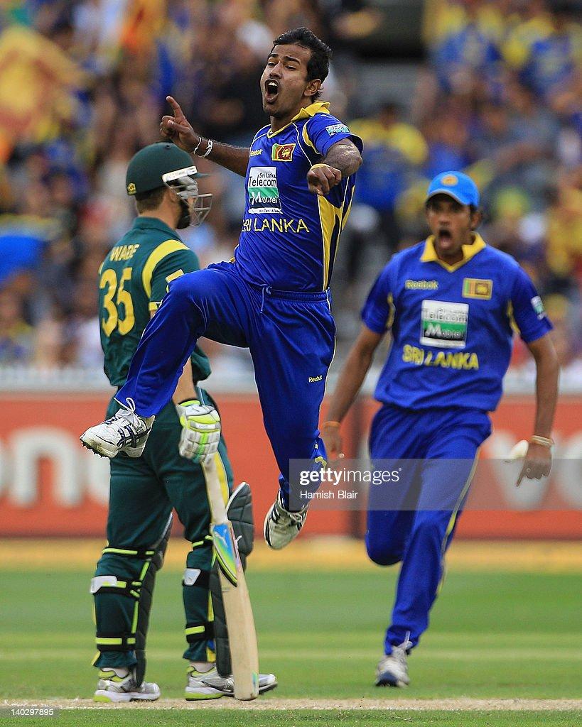 Australia v Sri Lanka - Tri-Series Game 12