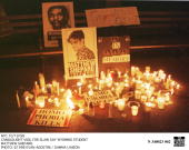 Nyc 10/19/98 Candlelight Vigil For Slain Gay Wyoming Student Matthew Shepard
