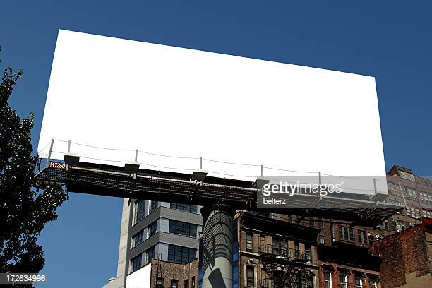 nyc blank billboard