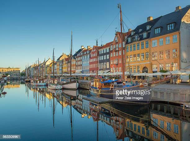 Nyhavn, Copenhagen in the morning