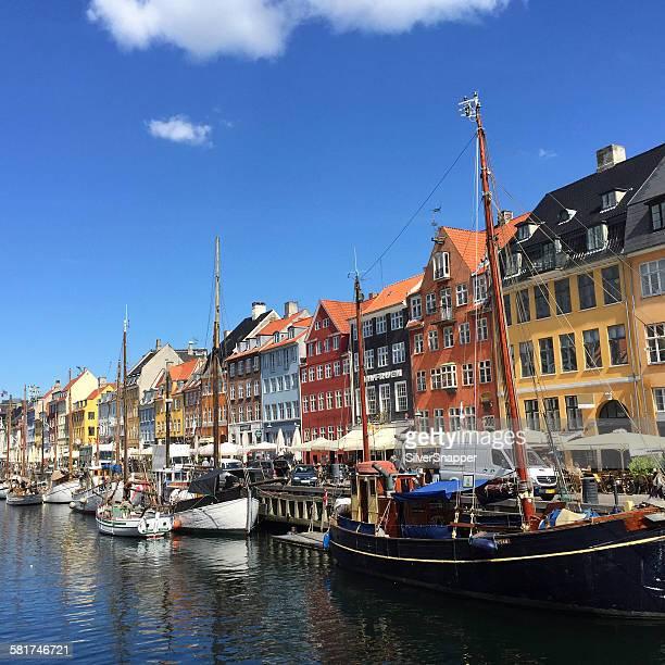 Nyhavn harbor, Copenhagen, Denmark