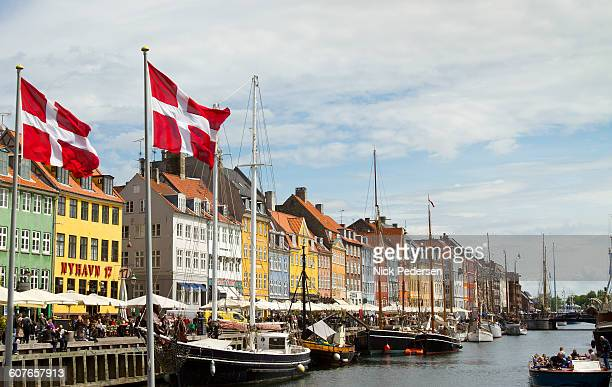 Nyhavn Harbor in Copehagen