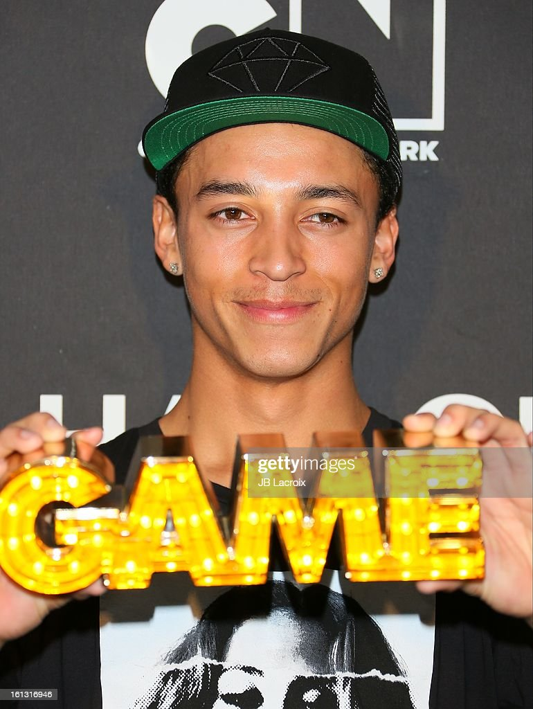 Nyjah Huston attends the Cartoon Network 3rd Annual Hall of Game Awards at Barker Hangar on February 9, 2013 in Santa Monica, California.