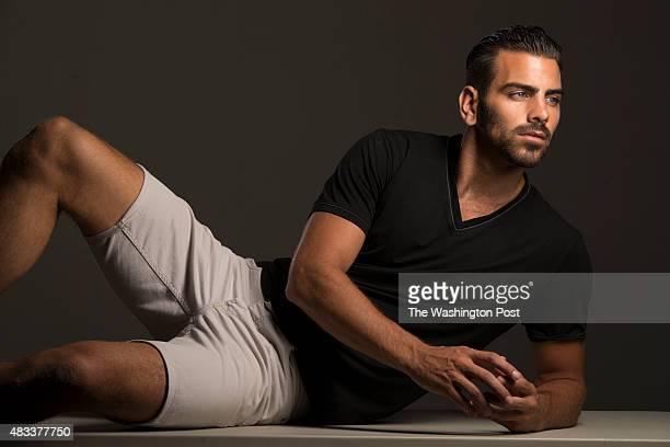 Nyle DiMarco a graduate of Gallaudet University is the first deaf contestant to ever appear on America's Next Top Model He is photographed at the...