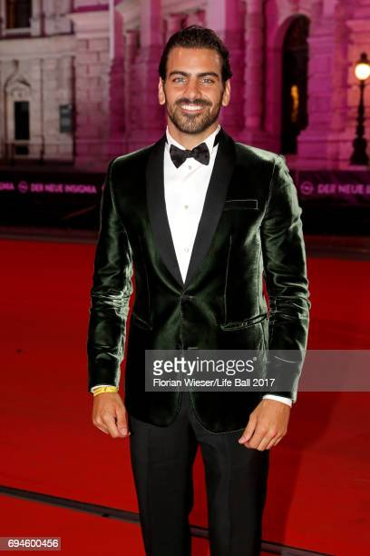 Nyle DiMarco arrives for the Life Ball 2017 at City Hall on June 10 2017 in Vienna Austria