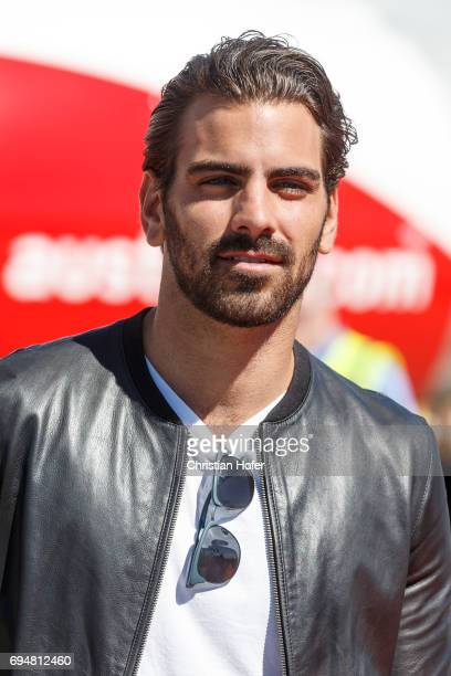 Nyle DiMarco arrives on the Life Ball plane on June 9 2017 in Vienna Austria The Life Ball an annual charity ball raising funds for HIV AIDS projects...