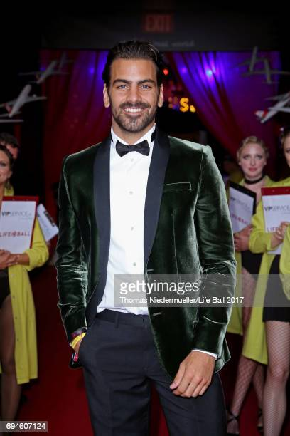 Nyle DiMarco attends the Life Ball 2017 Gala Dinner at City Hall on June 10 2017 in Vienna Austria