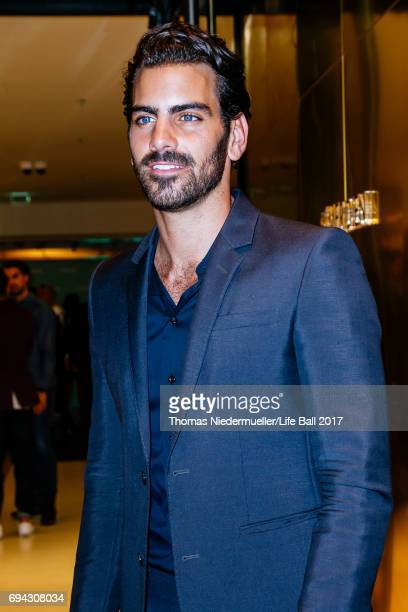 Nyle DiMarco attends the Life Ball 2017 welcome cocktail at Le Meridien Hotel on June 9 2017 in Vienna Austria The Life Ball an annual charity ball...