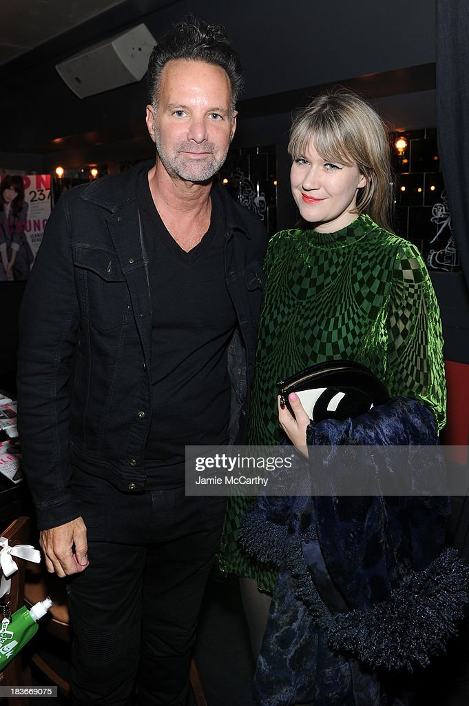Nylon Editor-in-Chief Marvin Scott Jarrett and Tennessee Thomas attend NYLON + Sanuk celebrate the October 'It Girl' issue with cover star Alexa Chung at La Cenita on October 8, 2013 in New York City.