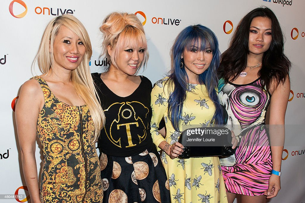 Nylon Pink attends the Wikipad & OnLive E3 Party at the Elevate Lounge on June 11, 2014 in Los Angeles, California.