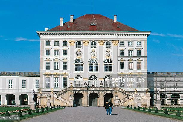 Nymphenburg Palace main summer residence of the kings of Bavaria 17th and 18th century Baroque style Munich Germany