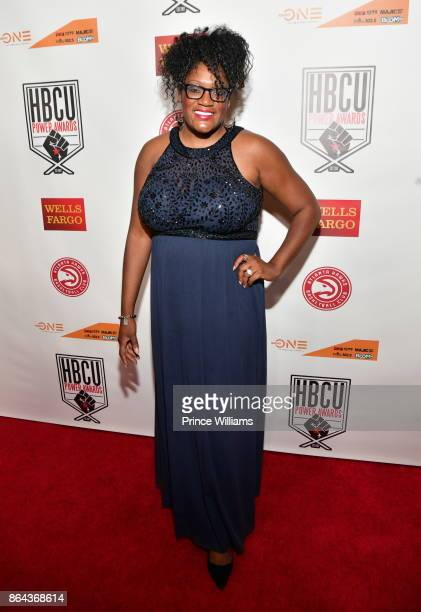 Nzinga Shaw attends the HBCU power Awards at Morehouse College on October 20 2017 in Atlanta Georgia