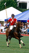 Oak Brook Illinois 9051986 Charles Prince of Wales plays polo at the Oak Brook Polo Club as part of his tour during his visit to Chicago The prince...