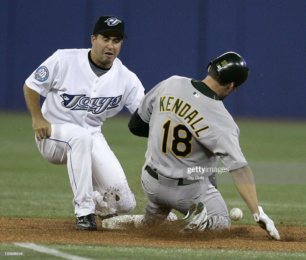 Oakland Athletics vs Toronto Blue Jays - August 23, 2006