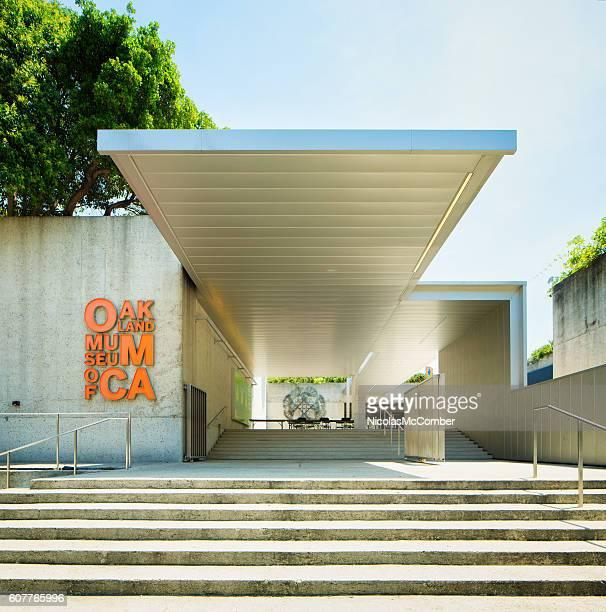 Oakland museum of California entrance