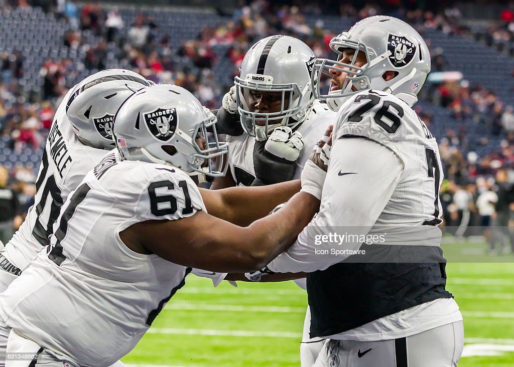 c5c1f2a8660a65 Oakland Raiders center Rodney Hudson (61) and Oakland Raiders offensive  guard .