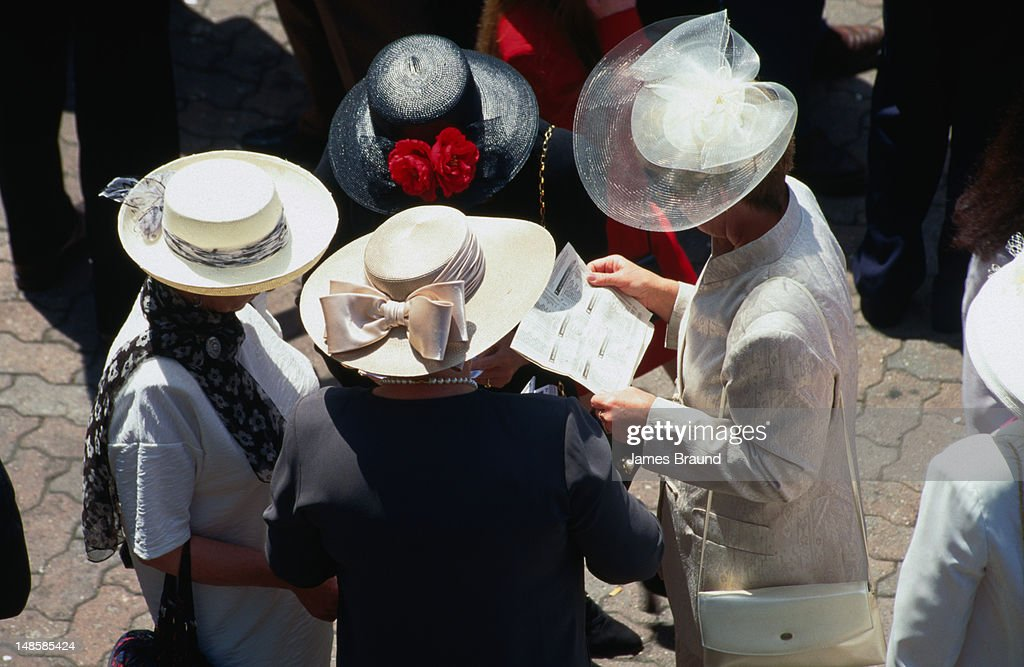 Oaks Day ('ladies day') during Melbourne's Spring Racing Carnival.