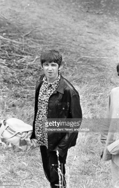 Oasis at Slane before there concert