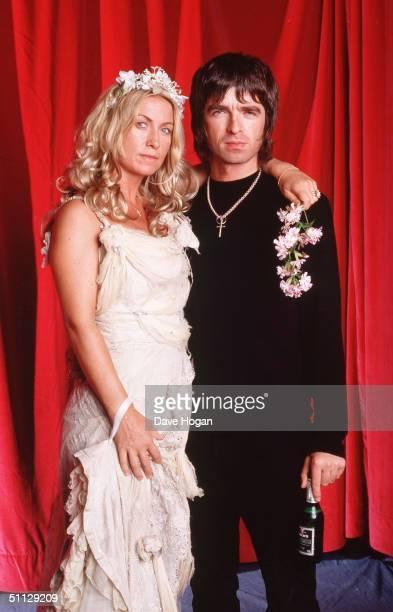 Oasis guitarist Noel Gallagher and wife Meg Matthews