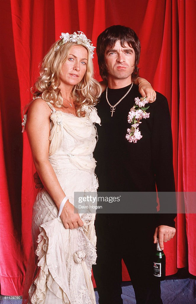 Oasis guitarist <a gi-track='captionPersonalityLinkClicked' href=/galleries/search?phrase=Noel+Gallagher&family=editorial&specificpeople=209146 ng-click='$event.stopPropagation()'>Noel Gallagher</a> and wife Meg Matthews.