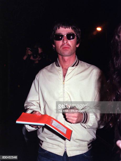 Oasis singersongwriter Noel Gallagher arriving at Air Studios in Hampstead London for a John Lennon tribute recording session