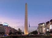El Obelisco es el monumento mas representativo de la Ciudad de Buenos Aires