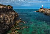 An historic landmark at Cape Dombey, Robe, South Australia
