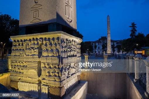 Obelisk Of Theodosius Stock Photos and Pictures  Getty Images
