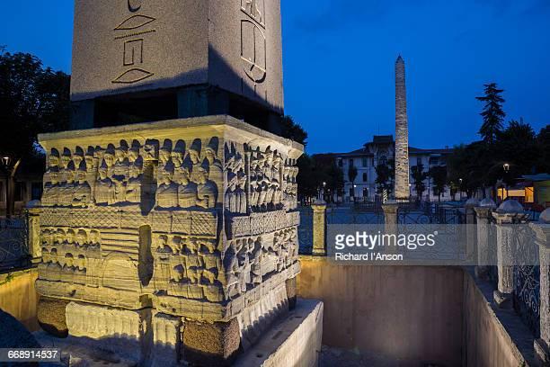 Obelisk of Theodosius & Rough-Stone Obelisk