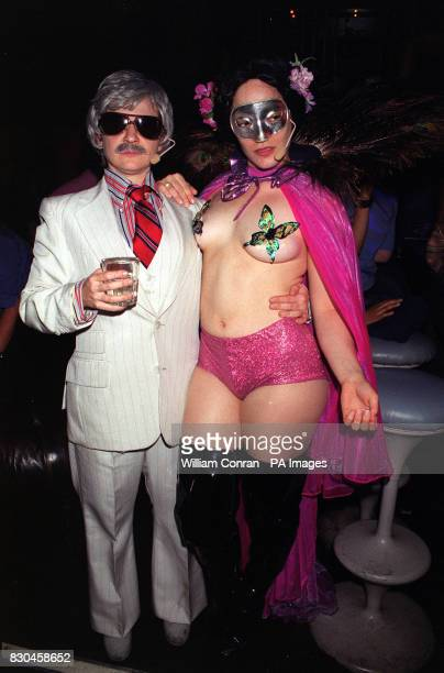 Oberon and Tytania at the Donkey Show A Midsummer Night's Dream disco at the Hanover Grand in London