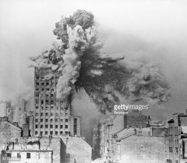 Object Lesson from Bombing of Warsaw A lesson for the future from the tragedies of the past may result in the planning of cities that are almost...