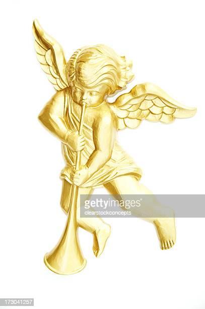 Object White Background Plastic Angel
