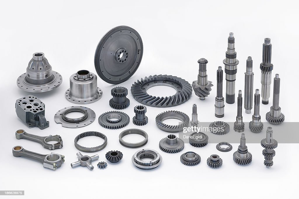 Objects motor part