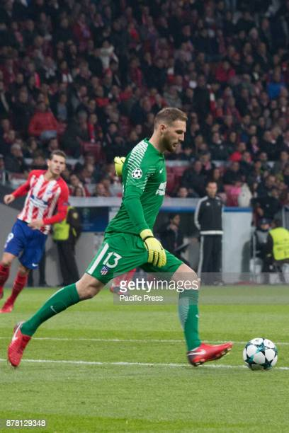 METROPOLITANO MADRID SPAIN Oblak during Atletico de Madrid won by 2 to 0 with goals by Griezmann and Gameiro against Roma