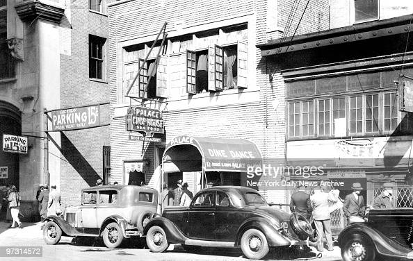 Obscure Palace Chop House in Newark New Jersey where enemies trapped Dutch Schultz far from security of old strongholds in New York
