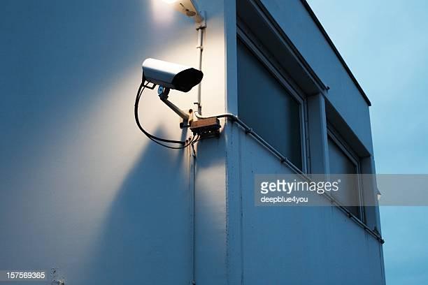 Beobachtung Kamera in der Dämmerung