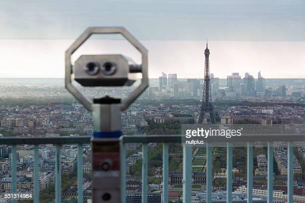 パリの展望デッキからの眺め