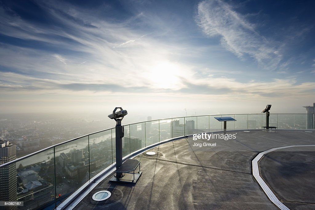 Observation deck : Foto de stock