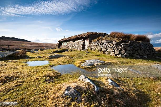 Observation hut on Dartmoor