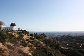 Observatory Los Angeles in Griffith Park, USA