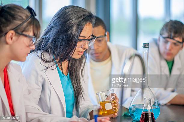 Observing Chemicals in Science Class