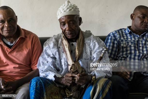 Obung community village leader Chief Ntufam Igne speaks during an interview with the AFP on April 26 in Calabar The 800billionnaira highway project...