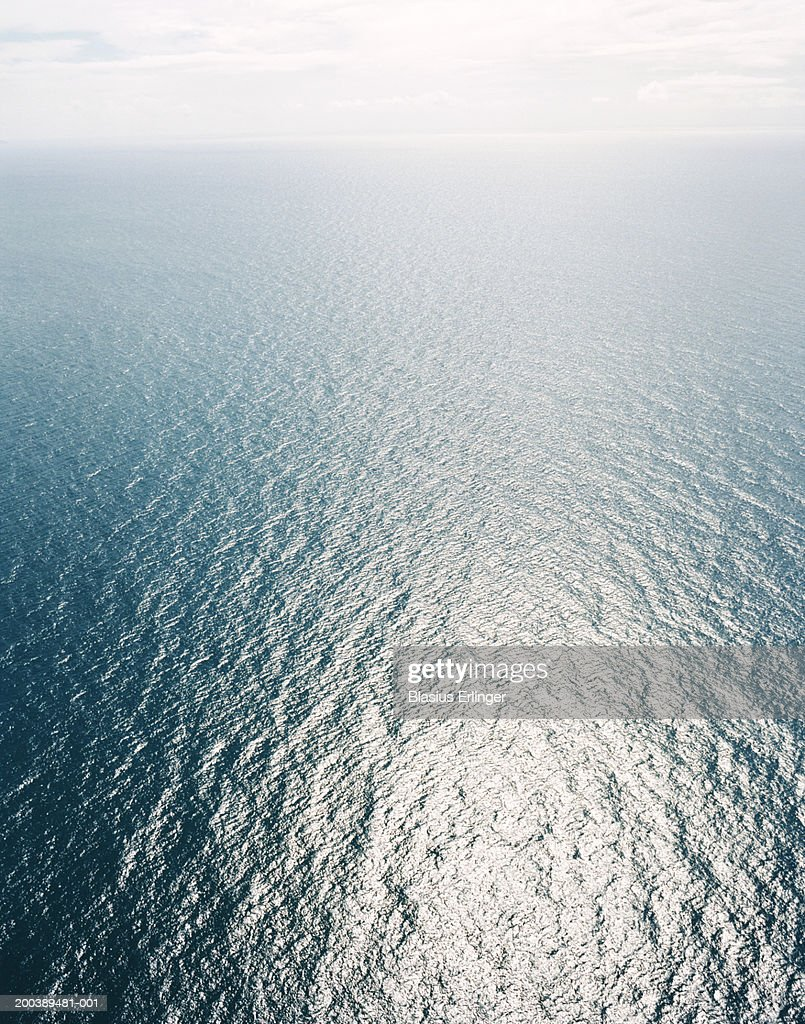 Ocean, aerial view : Stock Photo