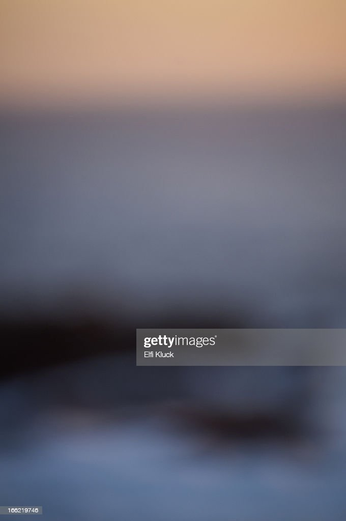 Ocean and sky at sunset : Stock Photo