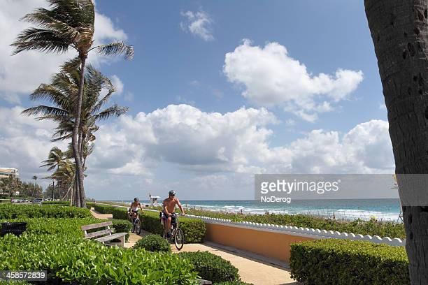 Ocean Boulevard in Palm Beach Florida