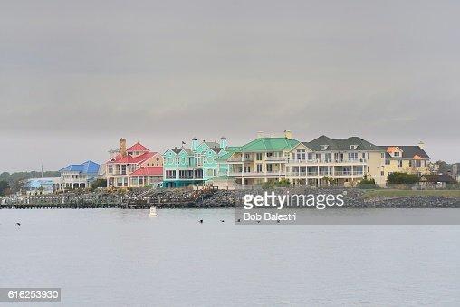 Ocean City Luxury Homes : Stock Photo