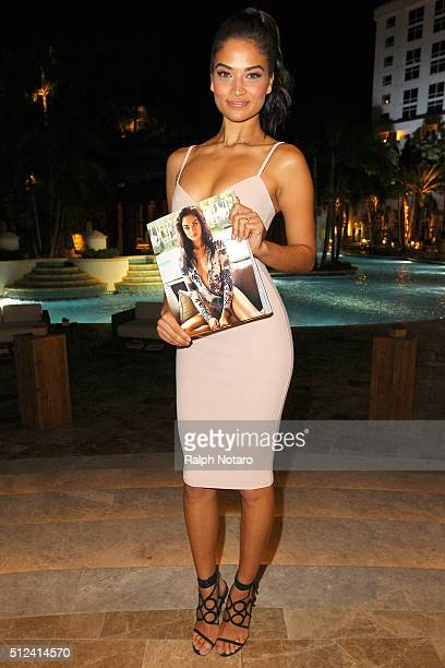 Ocean Drive Magazine Celebrates with Cover Star Shanina Shaik at Kuro at Seminole Hard Rock Hotel Casino on February 25 2016 in Hollywood Florida