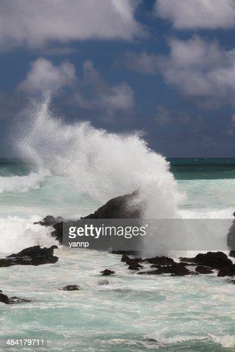 Ocean erosion : Bildbanksbilder