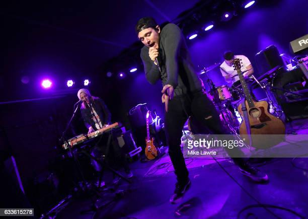 Ocean Park Standoff performs at Mercury Lounge on February 2 2017 in New York City