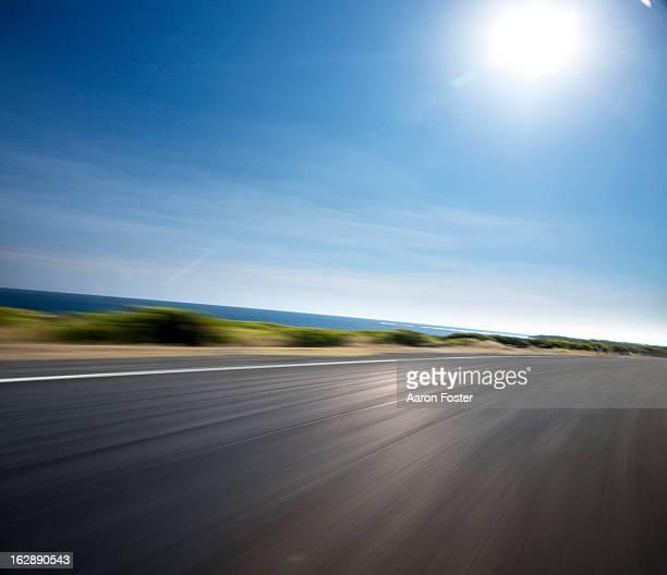 Ocean Road Bend Daytime